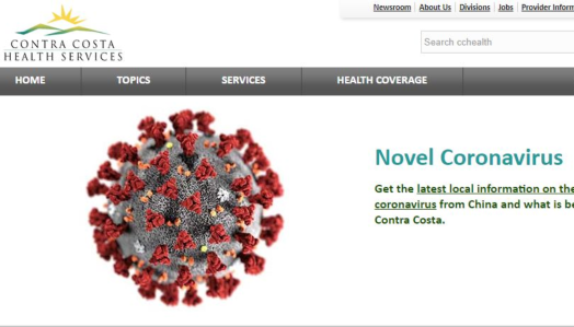 corona virus image of molecule