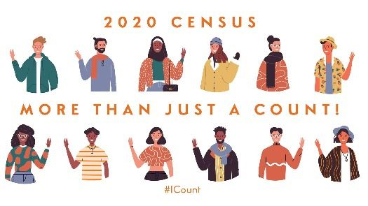 Census graphic of people