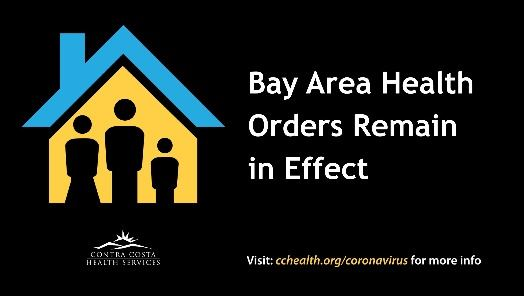 Bay Area Health Order graphic