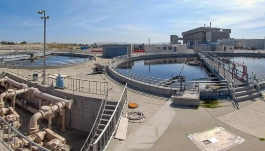 Central Sanitation sewage treatment plant