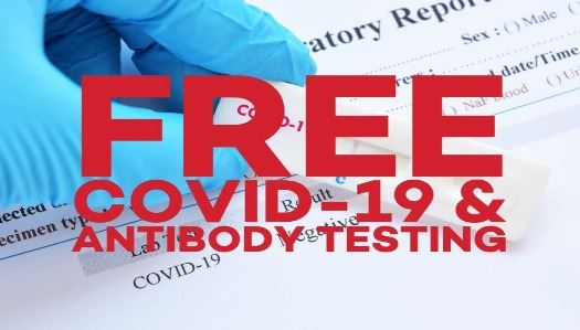 Free COVID-19 and Antibody Testing