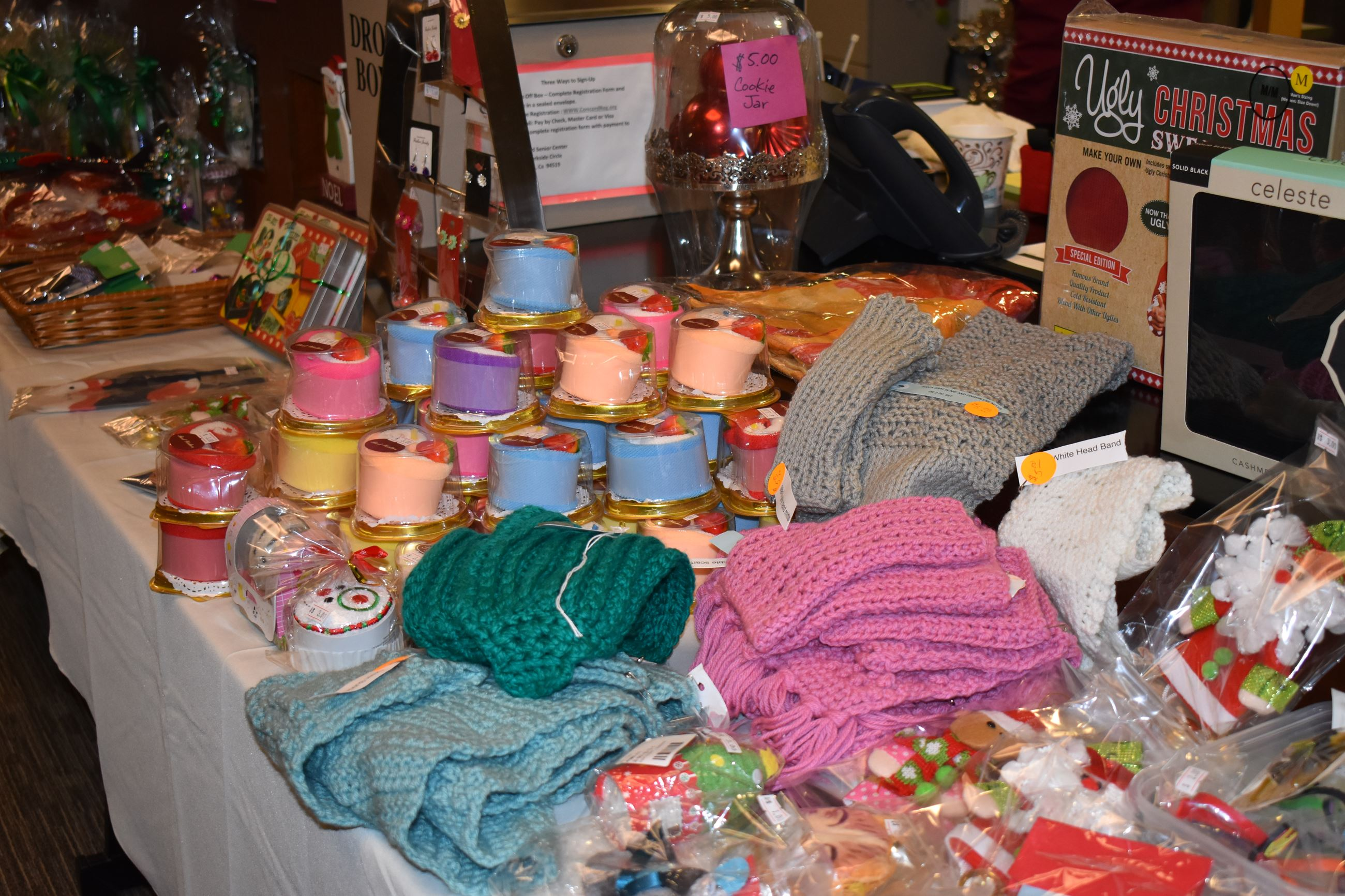 Senior Center Craft table